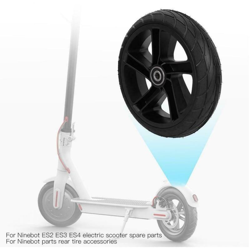 Kit d'accessoires de Scooter électrique pour pneu arrière en caoutchouc roue arrière pratique assemblage d'amortissement professionnel pour Ninebot Es1 Es2 Es3 Es4