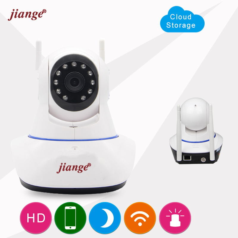 jiange Wireless Connection Cloud Storage IP Camera 720P Video Surveillance Camera Smartphone Remote Monitoring Easy To Install