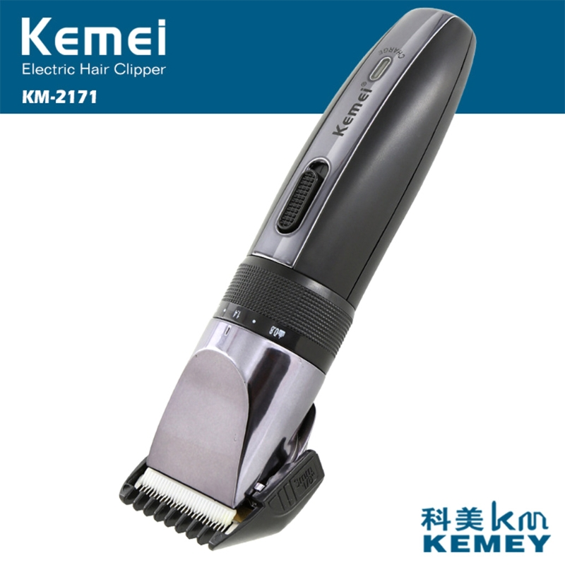 Kemei Electric Hair Clipper Rechargeable Trimmer Shaver Razor For Adult Child hair clipper barber scissors carved carving tools rechargeable hair trimmer adult child modeling stencil lettering