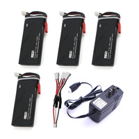 4pcs Hubsan X4 Batteries H502S RC 610mAh Lipo 7 4V RC Drone Battery 15C 4 5Wha