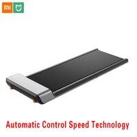 Оригинальный Xiaomi Mijia Smart WalkingPad складной нескользящий автоматический контроль скорости светодиодный дисплей снижение веса беговая дорожка