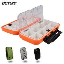 Goture Водонепроницаемый рыболовный ящик двойная сторона съёмная решётка, ящик для рыбалки Приманка/Крючки/Аксессуары, коробка для приманок