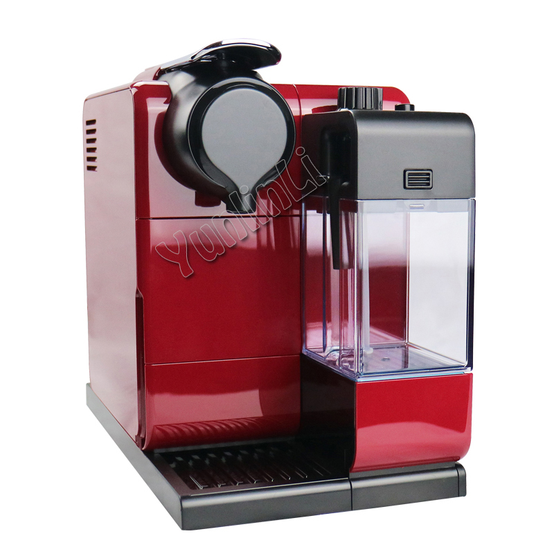 220V EN550 Capsule Coffee Makers Automatic Capsule Coffee Machine 19bar Intelligent Touch Screen Control Espresso Machine 1 pc 220v en550 home automatic capsule coffee machine 19bar intelligent touch screen control capsule coffee machine