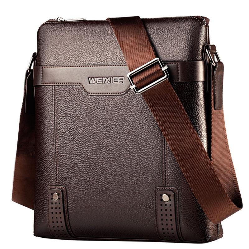 New Fashion Man Bag PU Leather Men Messenger Bags Small Leather Shoulder Crossbody Bag For Men Business Briefcase Men's Handbags