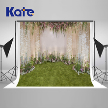 Kate 20X10ft  Wedding Photography Background Flower Camera Fotografica Romantic Photocall Green Floor New Design