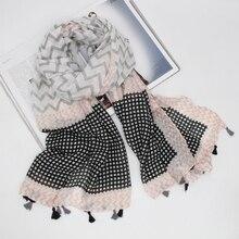 Printing women viscose lightweight scarf seasons wraps hijab foulard bandana wholesale cheap price LL190612