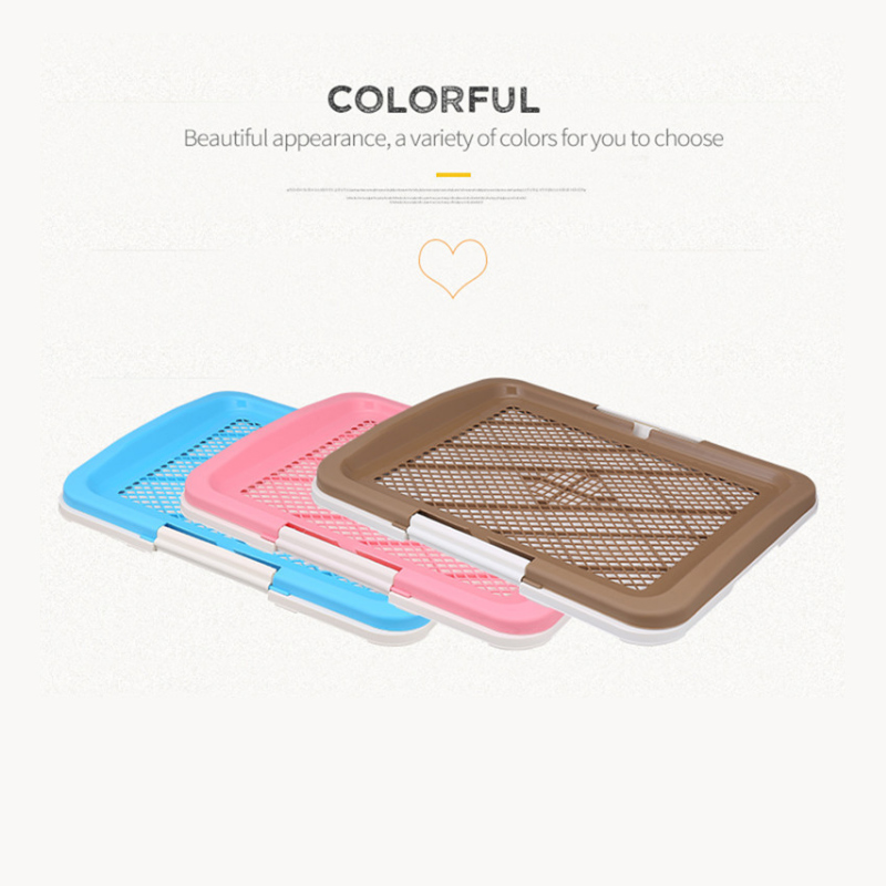 Mesh Dog Toilet Pad Tray Lattice Potty Puppy Pee Training Cat Mat Pet Product For Supplies Dogs Accessories