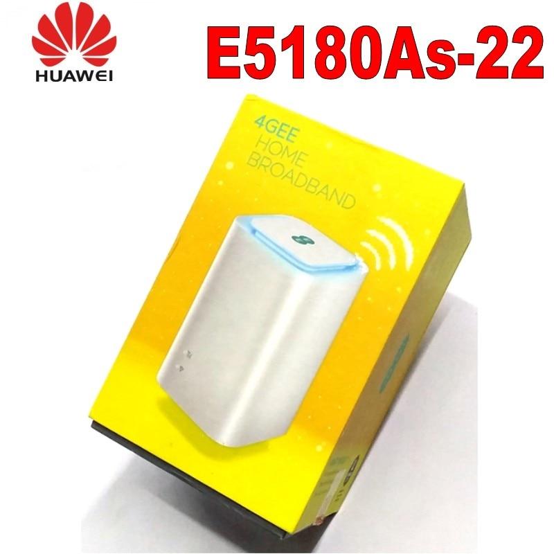Unlocked Huawei E5180 LTE Cube Huawei E5180As 22 CPE LTE Router 150 Mbit s LAN 4G