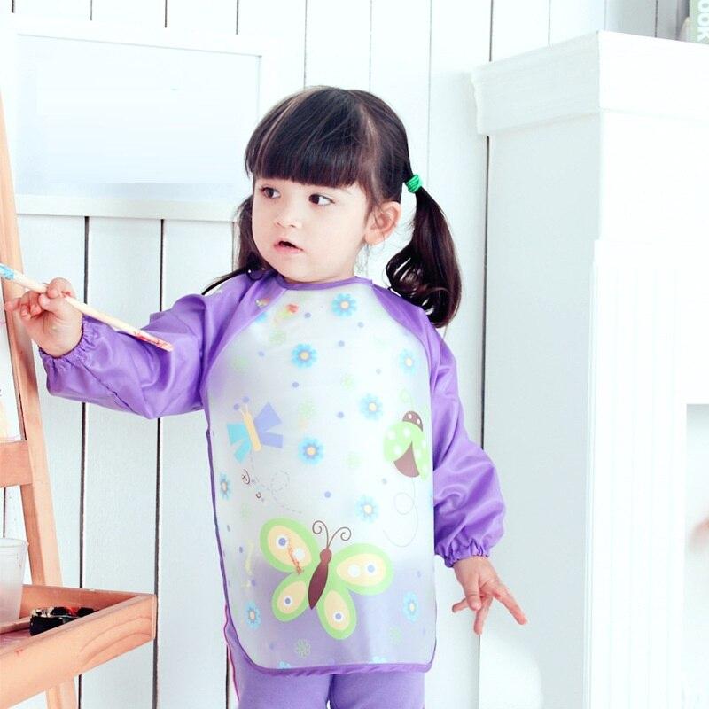 Nieuw Slabbers Waterdicht Lange mouw slabbetje Speeksel Slabbetje - Babykleding - Foto 3