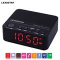 LEADSTAR Portable Mini Wirelss LED Alarm Clock Bluetooth Speaker Hands-free Calls FM Radio Amplifier Support TF Card MX-17