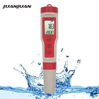 Professional Digital Water Tester PH/TDS/EC/Temperature Meter 4 in 1 Water Quality Monitor Tester Kit for Pools Drinking Water