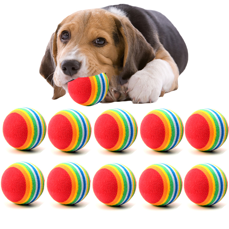 Small Toy Dogs : Pc lot mini small dog toys for pets dogs chew ball puppy