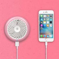 Mini Desktop Spray Fan USB Mobile Power Humidifier Fan 2018