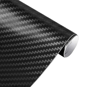 3D Carbon Fiber Vinyl Film Car Stickers Waterproof Car Styling Wrap Auto Vehicle Detailing Car Accessories Motorcycle #2(China)