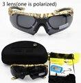 Мужские Военные очки 3/5 линзы поляризованные Баллистические военные солнцезащитные очки армейские пуленепробиваемые очки для стрельбы ве...