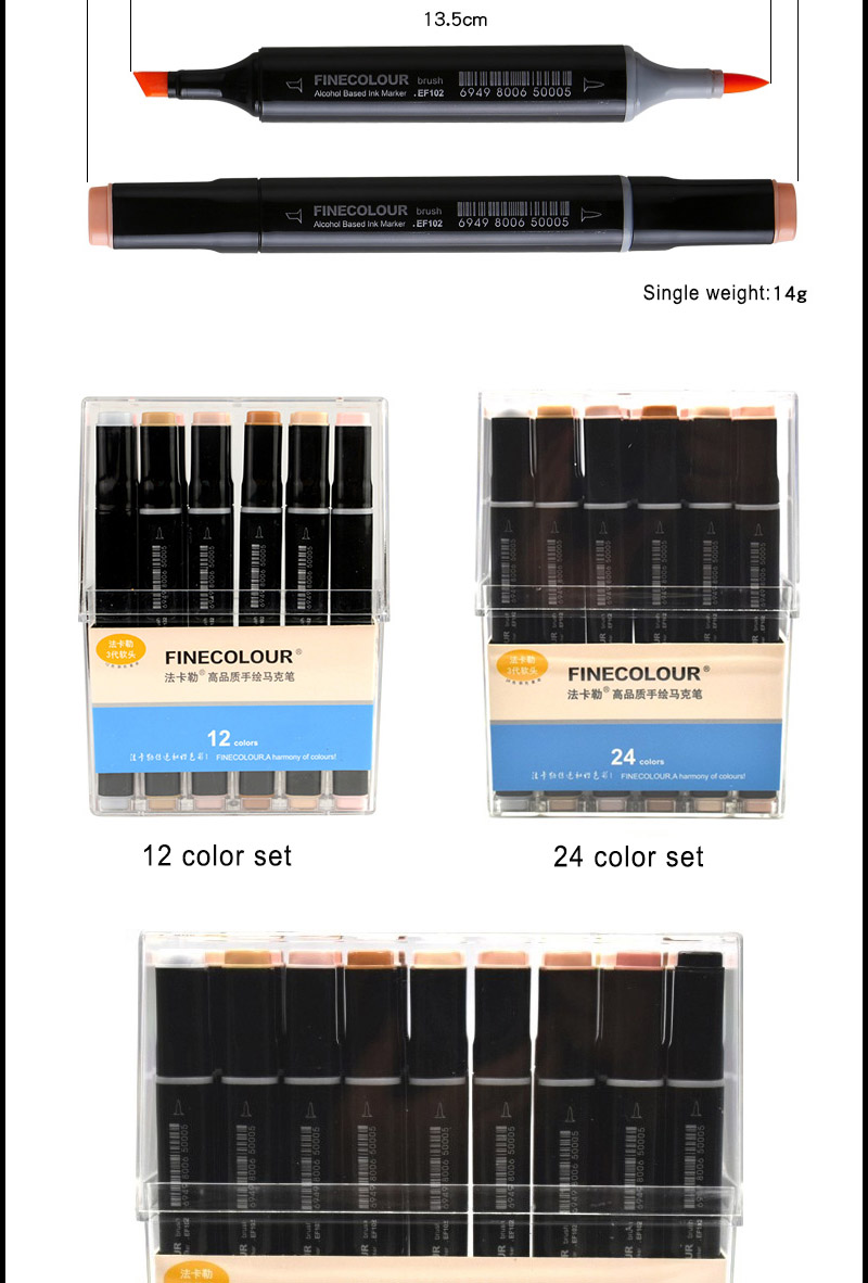 Cheap brush marker