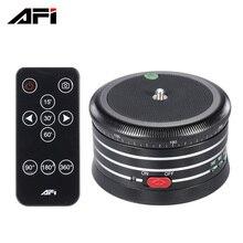 Afi mra01 Профессиональный 360 металл Электрический панорама штатив шаровой головкой w/Дистанционное управление для GoPro действий Камера dlsrs смартфонов