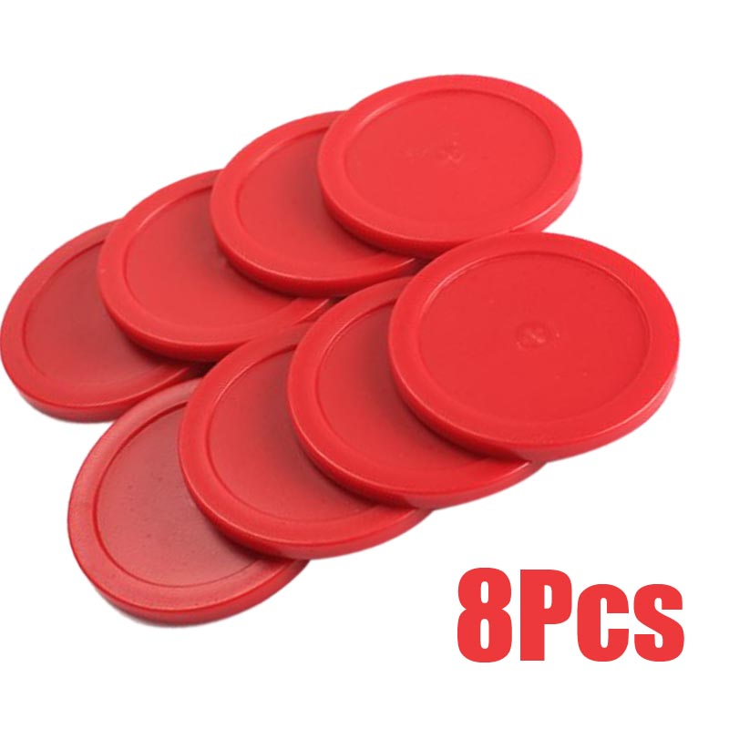 8PCS Mini Air Hockey Pucks Children Table Games Entertaining Toy