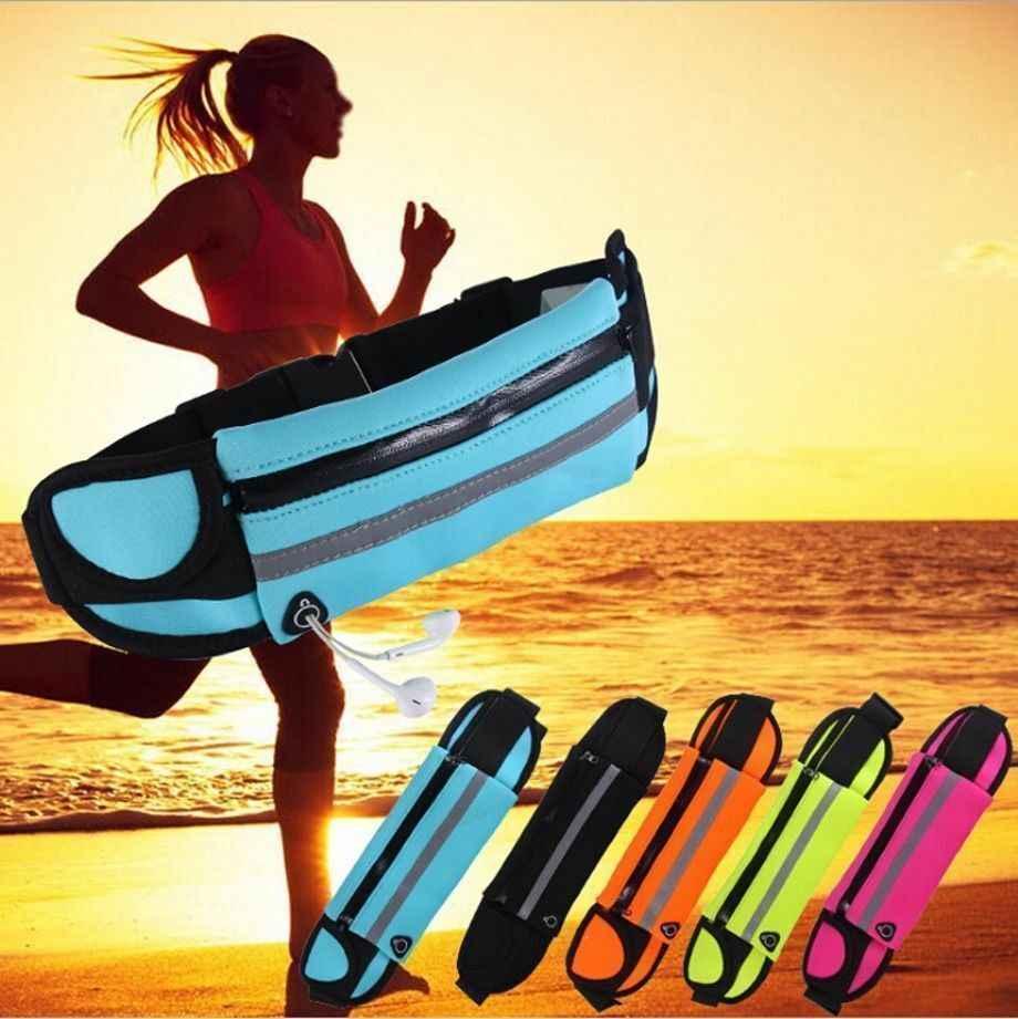 للماء الخصر حزمة مراوح حقيبة بحزام الحقيبة السفر الرياضة الورك محفظة الرجال النساء بوم