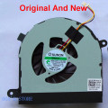 Original new cpu laptop cooler fan para dell inspiron 17r n7110 vostro 3750 notebook sunon mf60120v1-c130-g99 dfs552005mb0t