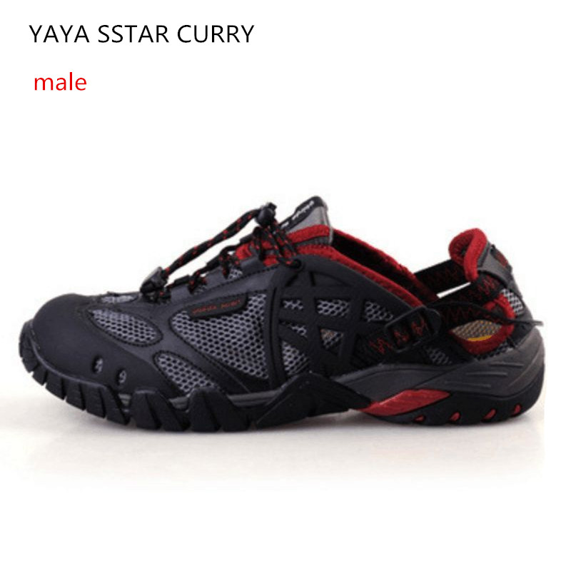 Male and female breathable quick dry upstream Creek shoes outdoor mountaineering hiking shoes non-slip fishing wading shoes