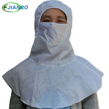 The anti-electrostatic work hat takes the mouth-muffle dust palliative food safety helmet factory car to have no shawl