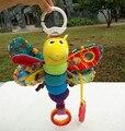 Borboleta Brinquedo Infantil Chocalho Musical Móvel no Berço Do Bebê Crianças brinquedos Para Bebês Sino Boneca de Pelúcia Brinquedos 0-12 Meses-BYC007 PT15