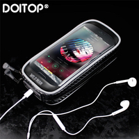 DOITOP Waterproof Phone Holder Universal Bike Motorcycle Mobile Support Stand Bag for iphone X 8 S8 S9 GPS Bicycle Holder Handle|Phone Holders & Stands|   -