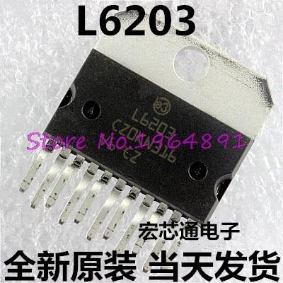 1PCS L6203 ZIP-11 IC DRIVER FULL BRIDGE MULTIWAT ST 5A 12 V ~ 48 V NEW
