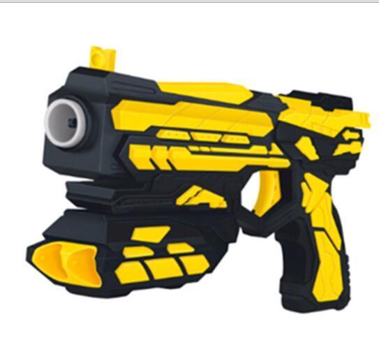 Los niños de plástico pistola de bala suave shooting bullet soft pistola batalla juguetes de regalo los niños pistola de brinquedo