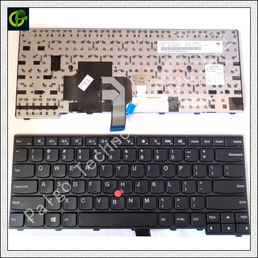 New English Keyboard for lenovo ThinkPad L440 L450 L460 L470 T431S T440 T440P T440S T450 T450S e440 e431S T460 US standard brand new for lenovo thinkpad t440 t440s t450 t450s lcd led bezel cover screen frame sticker 04x5466 04x5346 04x3867 04x5448