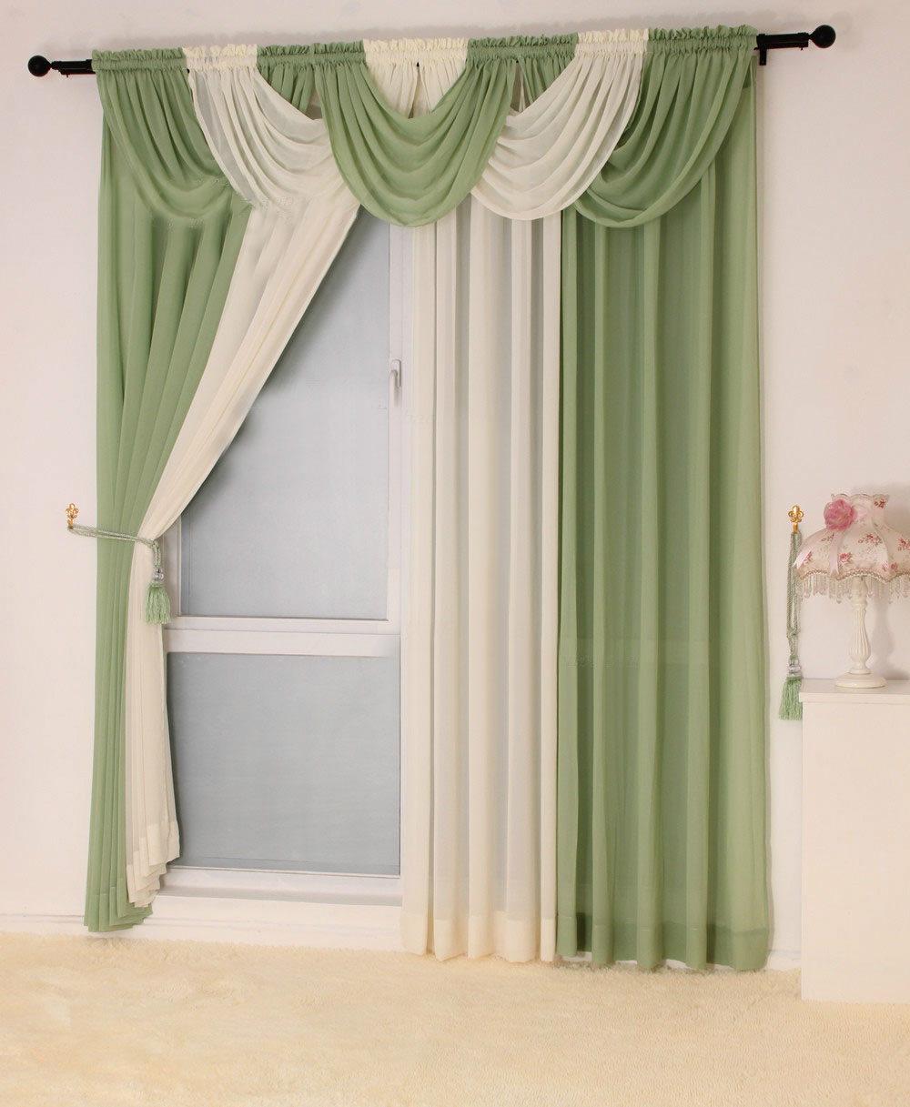 Us 10 2 Modern Curtains For Living Room Kitchen Valance Tulle Sheer Curtain Modern Curtains For Living Room Custom 100 Colors Available In Curtains