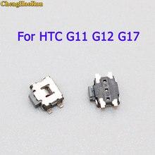 ChengHaoRan 20pcs Power Switch Volume keys For HTC G11 G12 G17 S710e S510e MB525 T7373 EVO 3D 4G