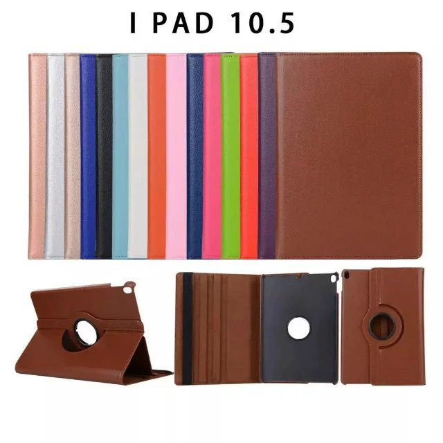 For iPad Pro 10.5 Case with Stand Function Smart 360 Degree Rotating Leather Case Cover for Apple iPad Pro 10.5 inch Case for ipad air 2 case 360 degree rotating stand leather case smart cover with automatic wake sleep function for ipad6