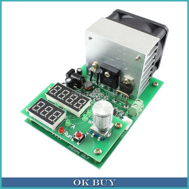 60W Constant Current Electronic Load Tester 10A 1V~30V Battery Discharge Capacity Test Equipment  цены
