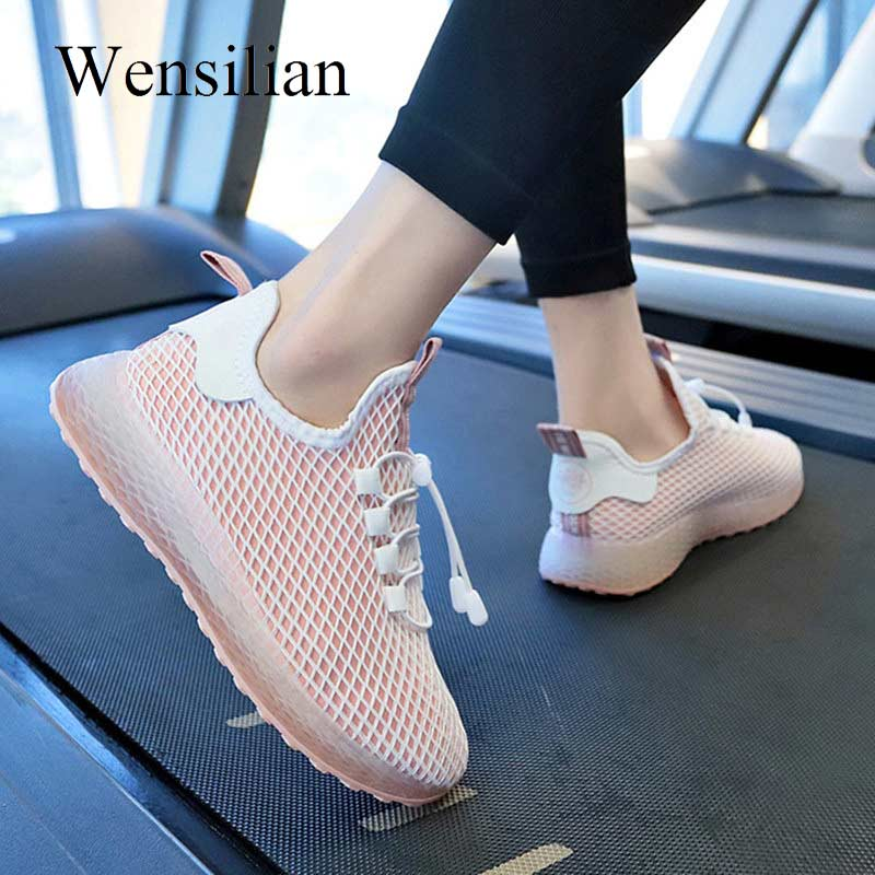 Fashion Sneakers Women Trainers New Summer Shoes 2019 Mesh Basket Femme Ladies Casual Shoes White Sneakers Chaussures FemmeFashion Sneakers Women Trainers New Summer Shoes 2019 Mesh Basket Femme Ladies Casual Shoes White Sneakers Chaussures Femme