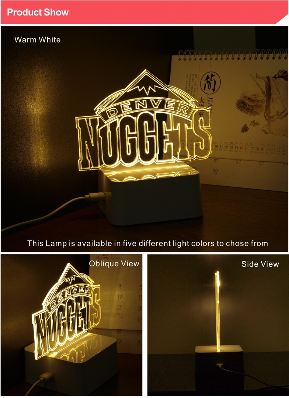 USB Novelty 3D LED Night Lights for Basketball Team Touch Dimmable Table Desk Lamp as Home Decor (2)