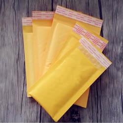 10 шт./лот пузыря Kraft Конверты с полимерным покрытием Многофункциональный упаковочных материалов доставка сумки пузырчатая, для отправки