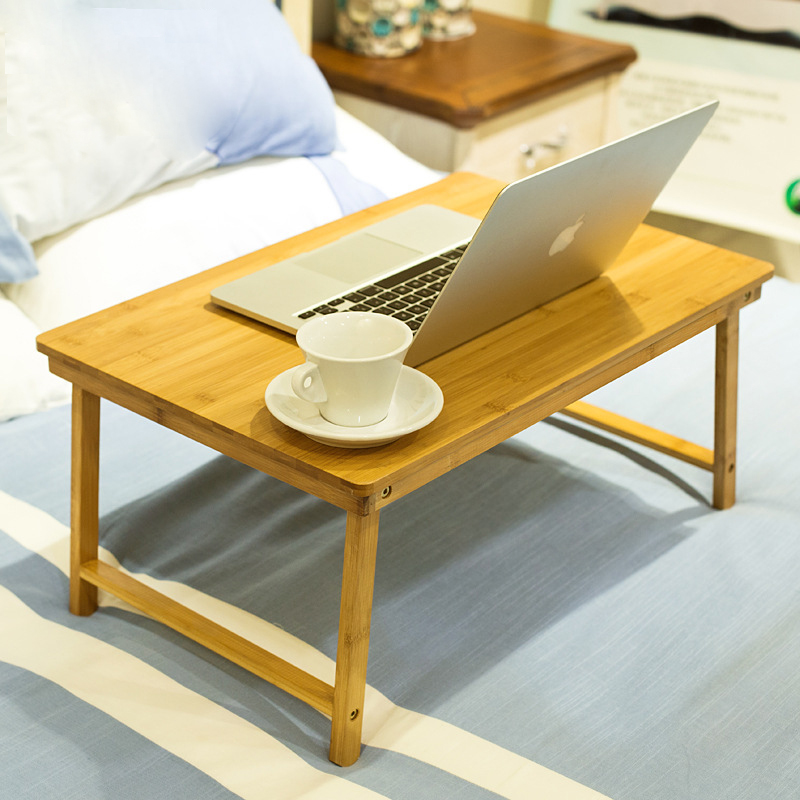 6 colors Fashion Computer Desk Foldable laptop desk bed small table dorm lazy simple wood desk Dining table 60*40*30 cm