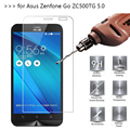 2.5D 0.26mm 9H Premium Tempered Glass For ASUS Zenfone GO ZC500TG 5.0 inch Screen Protector Toughened protective film *
