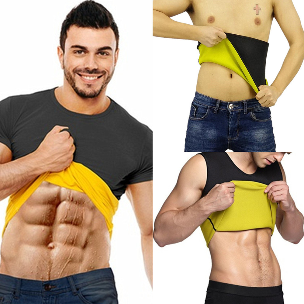 Sweat Sauna Body Shaper Men Women Slimming Vest Thermo Weight Loss Waist Trainer