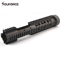 Tactical M4 RAS MRE Handguard Keymod Rail System Mount with length 12.5 Inches for 20mm Rail Mount of Gun Accessories