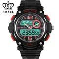 SMAEL Brand Dual Time Display Big Sport Watch  Men Military Watches Casual Army relogio masculino Clock Wristwatch reloje WS1326