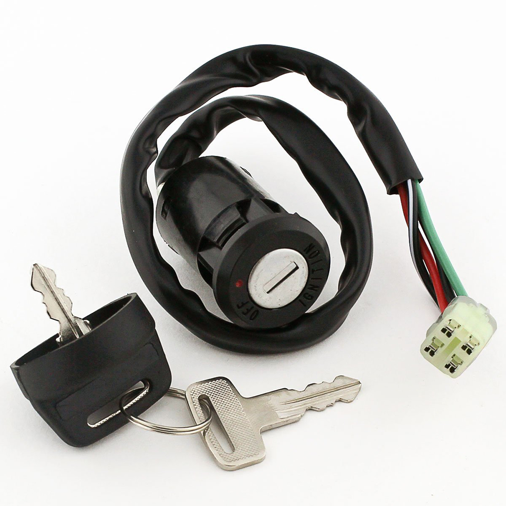 Motorbike Ignition Key Switch Lock Fits For HONDA 450 R TRX450R SPORTRAX 2004-2009 Motorcycle Pitbike Moped Scooter cdi image