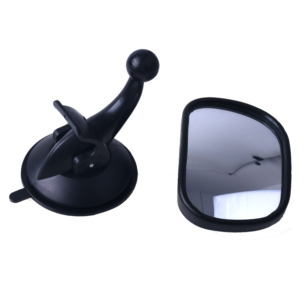 Car baby mirror Curved glass Auto Child Monitor with sucker Rearview Safety Rear seat Interior Mirrors Kids Care