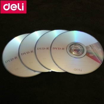 4PCS/LOT Deli 3724 DVD-R blank disc Reco...