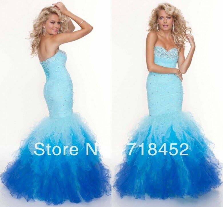 Popular Multi Colored Prom Dresses 2013-Buy Cheap Multi Colored ...