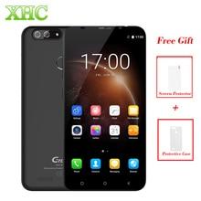 Гретель S55 1 ГБ + 16 ГБ мобильный телефон dual задней камерами отпечатков пальцев ID 5.5 »Android 7.0 MTK6580A Quad Core 1.3 ГГц Dual SIM телефона