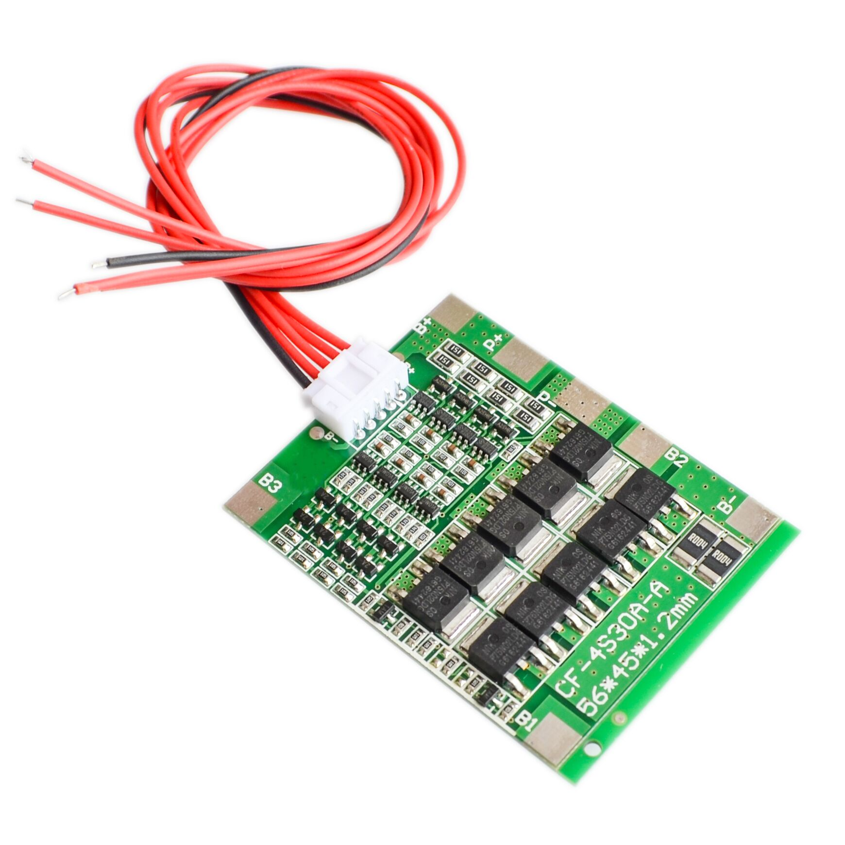 4S 30A 14.8V Li-ion Lithium 18650 Battery BMS Packs PCB Protection Board Balance Integrated Circuits 45x56mm Electronic Board