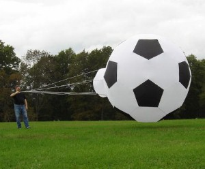 Nouveau cerf-volant logiciel 3D de football 3 M pour adultes cerf-volant facile à voler